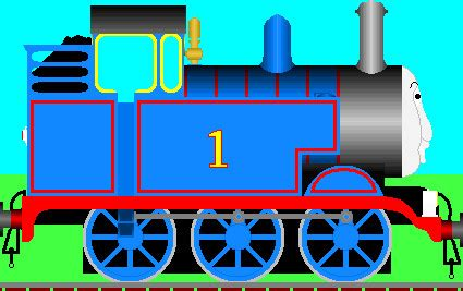 Tv Thomas Side View V2 By Thomasandstanley On Deviantart The Tank Coloring Pages