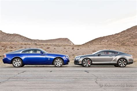 bentley wraith convertible 2014 rolls royce wraith vs 2013 bentley continental gt