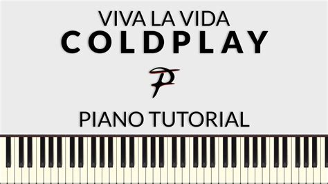 tutorial piano viva la vida coldplay viva la vida piano tutorial francesco