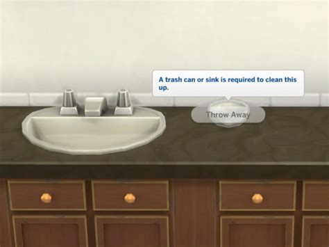 mod bathrooms mod the sims no dishes in bathroom sinks by plasticbox sims 4 downloads