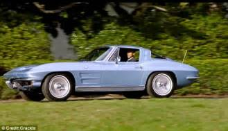 barack obama s car wallpapers barack obama and jerry seinfeld drive 1963 corvette for