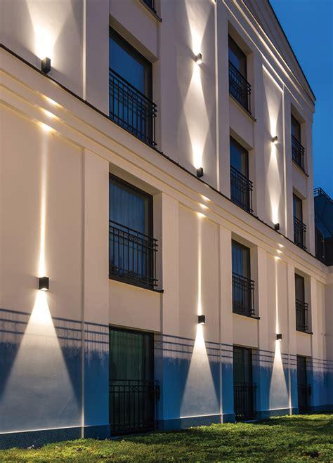 eclairage facade led applique exterieur murale 233 clairage haut et bas pour