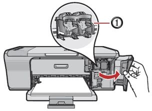 Printer Hp F735 hp deskjet ink advantage f735 all in one printer setting up the all in one hardware hp