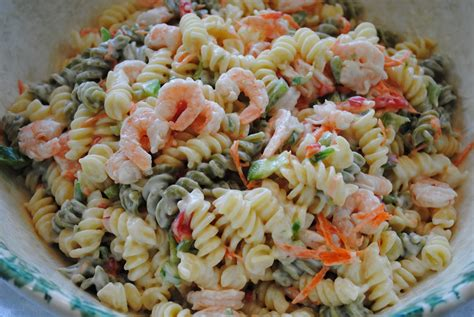 christmas holiday ideas merry christmas pasta shrimp salad