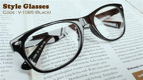 Kacamata D G Wayang Cat Eye Gold Biru Kacamata Fashion Wanita korean style glasses kacamata gaya ala korean style korean