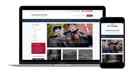 pro photo themes wordpress academica pro 3 0 wordpress theme for education non