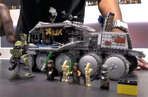Lego 75151 Wars Clone Turbo Tank Starwars Original Mainan 75151 clone turbo tank de lego