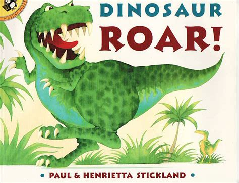 dinosaur picture book story telling for esl dinosaur roar
