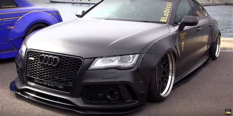 "Audi ""RS7"" TDI Has Rocket Bunny Kit, Air Suspension and Awesome Exhaust autoevolution"