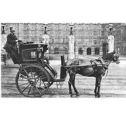 Horse Drawn Hansom Cab Predecessor To The Modern Motor Taxi