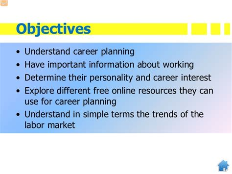 objectives of career guidance high school career guide presentation