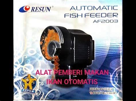 Alat Pemberi Makan Ikan pemberi makan ikan otomatis buzzpls