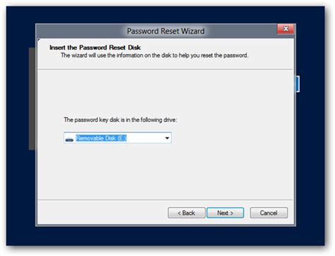 how to reset vista password with usb how to create and use a password reset disk or usb in
