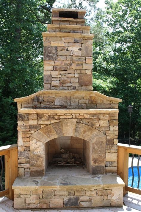 best outdoor fireplace pictures images on