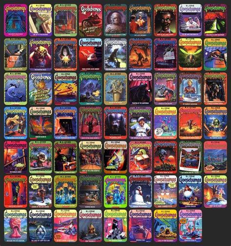 goosebumps books list with pictures 42 best goosebumps books images on kid books