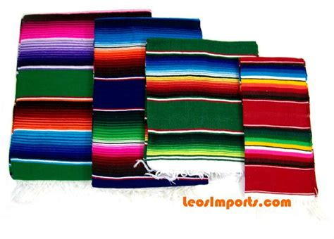 Indian Imports Home Decor by Mexican Serape Sarape Blanket Free Shipping