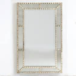 Ribbon panel mirror traditional floor mirrors by wisteria