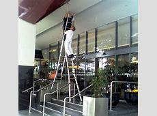 U.S. Safety Photo Gallery Unsafe Ladder Safety