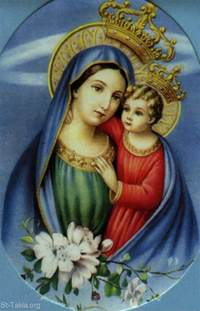 St Marys Image Theotokos Of God Glorious