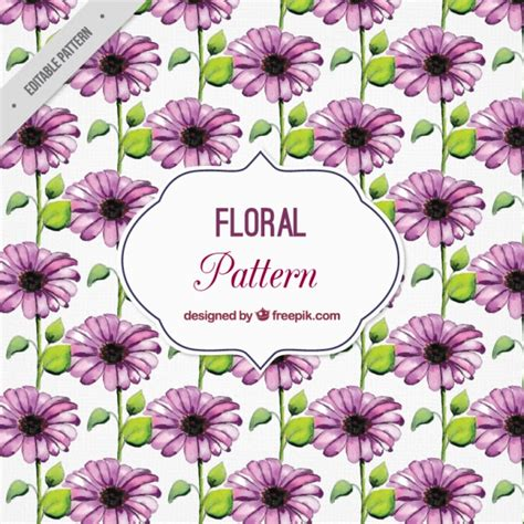 watercolor pattern with purple flowers vector free download watercolor pattern with purple flowers vector free download