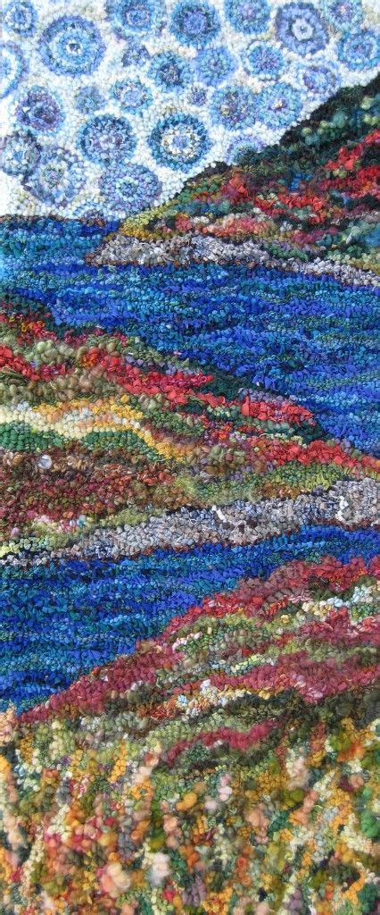 rug hooking patterns canada reminds me more of greece but i definitely see the green and the lakes hooked