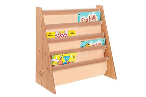 childrens wooden bookcase rack storage book shelf