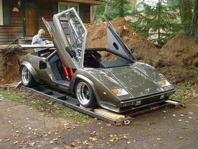Build My Own Lamborghini Builds His Own Lamborghini Countach In His Basement