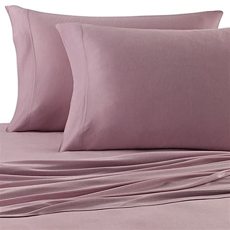 jersey knit sheet set beech 174 jersey knit sheet set bed bath beyond