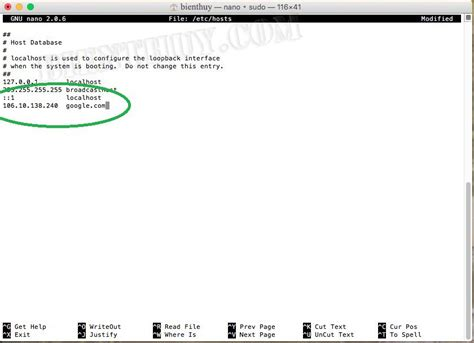 how to edit your macs hosts file and why you would want how to edit the hosts file on mac os x bi 234 n th 249 y
