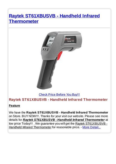 Infrared Thermometer Raytek raytek st61 xbusvb handheld infrared thermometer