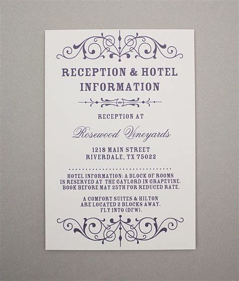 reception cards template 78 best images about diy wedding rsvp enclosure card