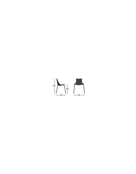 sedia acciaio sedia in acciaio e metacrilato trasparente sedie e