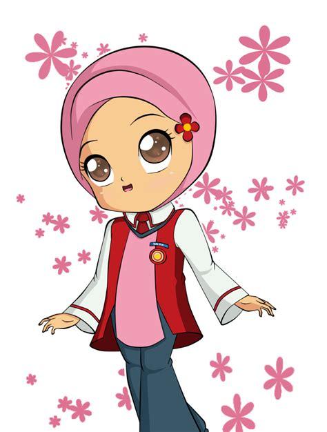 gambar anak perempuan kartun sigambar