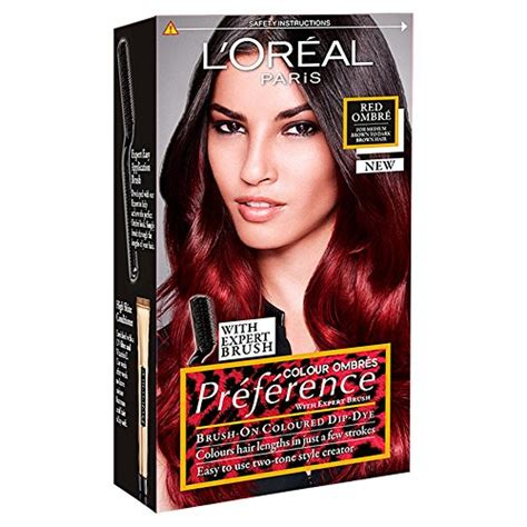 ombre hair color kit l oreal preference ombres dip dye hair kit ombre