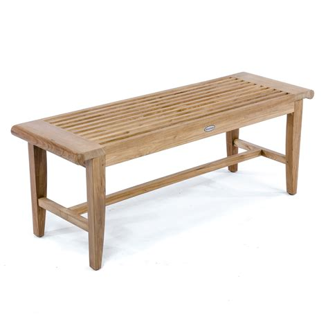 5ft bench laguna waterproof 5ft teak backless bench westminster