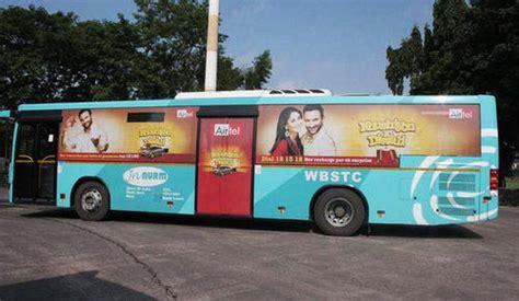 transit media bus branding service provider  kolkata