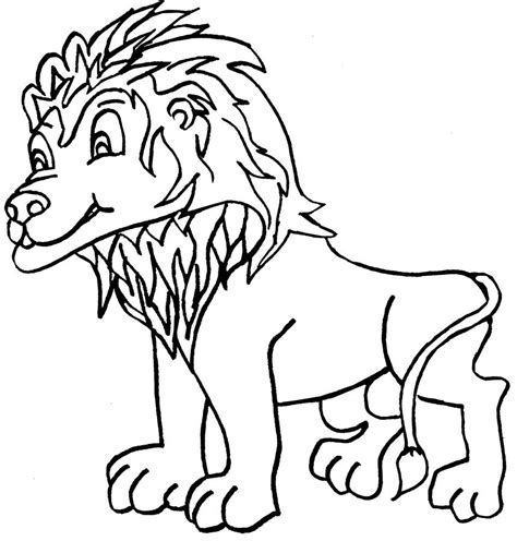male lion coloring pages how to draw male lion coloring page