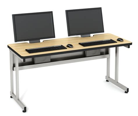 lcd secure table computer lab tables classroom