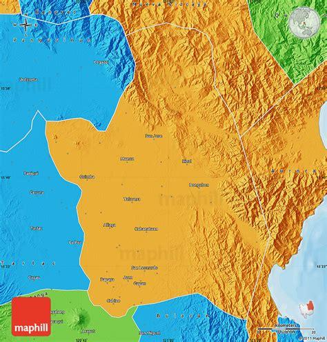 san jose nueva ecija map political map of nueva ecija