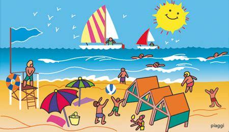 imagenes animadas vacaciones playa playa dibujo a color imagui
