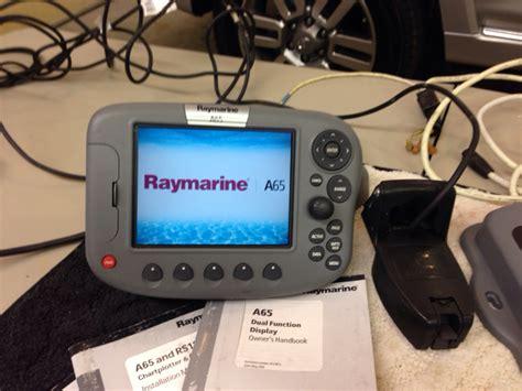 boat gps sounder sold raymarine a65 and dsm25 gps plotter sounder the