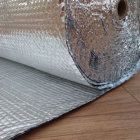 Wrap Insulation Shed by Yuzet 1 2m X 25m Layer Foil Insulation Wrap