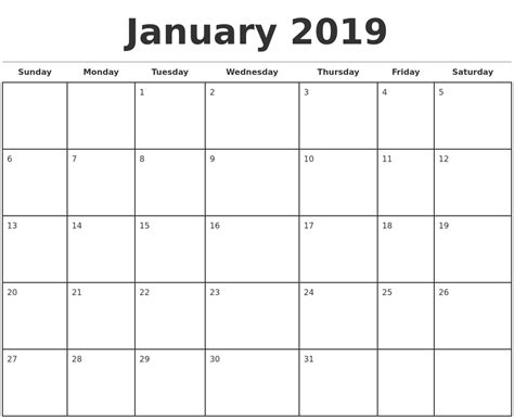 2019 Monthly Calendar Template 2018 Calendar With Holidays 2019 Monthly Calendar Template Excel