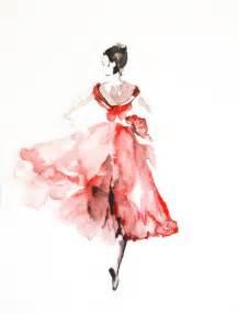 Tinkerbell Bedroom Ideas ballerina original watercolor painting dancer watercolor