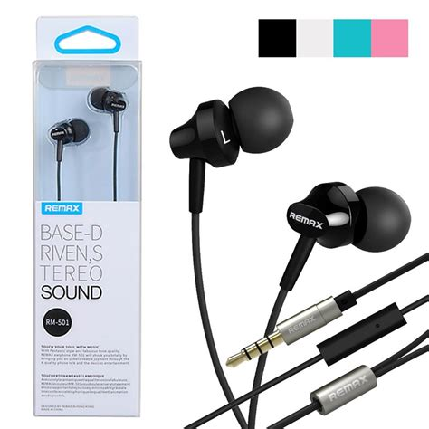 Original Remax Earphone 575 Pro Blue original remax rm 501 enhanced bass headset black blue pink white