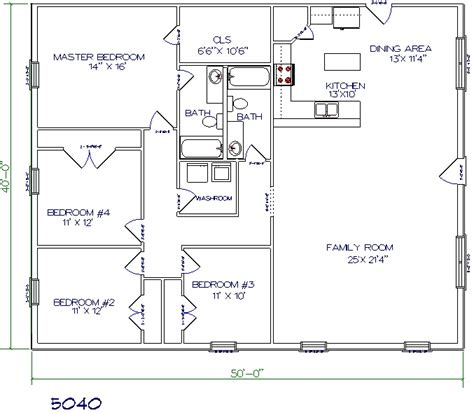metal house floor plans top 5 metal barndominium floor plans for your dream home