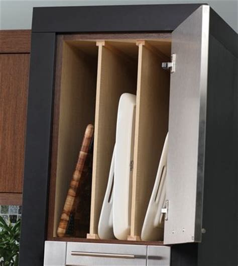 vertical tray dividers kitchen cabinets trays upper cabinets and baking on pinterest