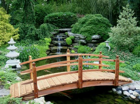 garden bridges selection of amazing wooden bridges 171 made with redwood