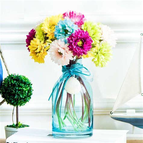 Small Flower Vases Cheap by Small Flower Vases Blue Glass Vases Wholesale