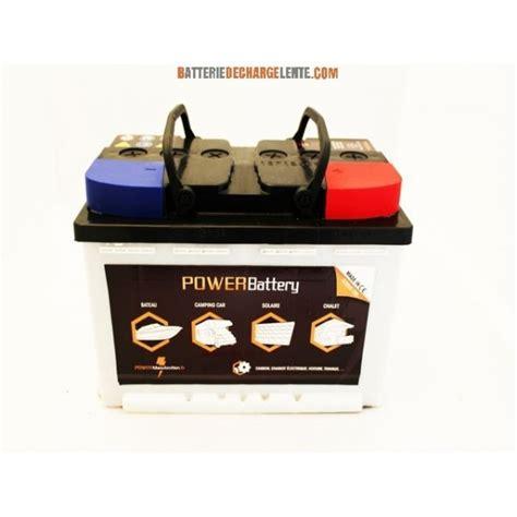 len mit batterie batterie decharge lente stationnaire compacte 12v 130ah